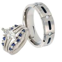 Titanium Wedding Ring Sets | eBay