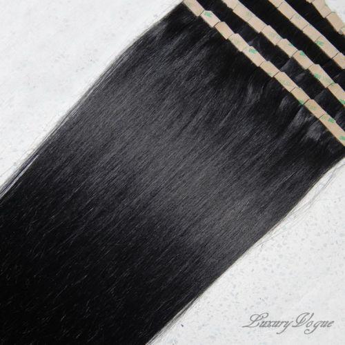 Black Tape Hair Extensions EBay