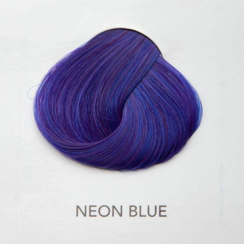 blue hair color permanent
