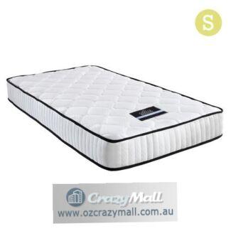 21cm Thick High Density Foam Single Pocket Spring Mattress