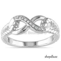 WOMENS-925-STERLING-SILVER-INFINITY-KNOT-FRIENDSHIP-LOVE ...