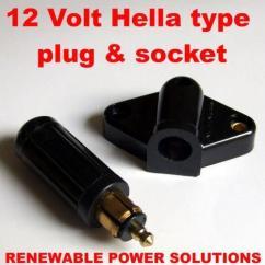 Uk Caravan Trailer Plug Wiring Diagram Door Lock Switch 12 Volt   Ebay