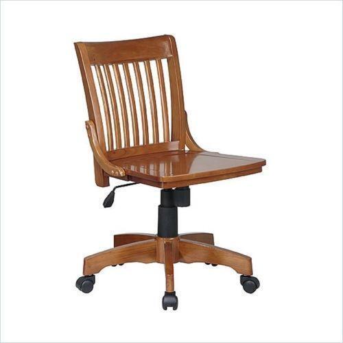 wood office chair baby high ebay