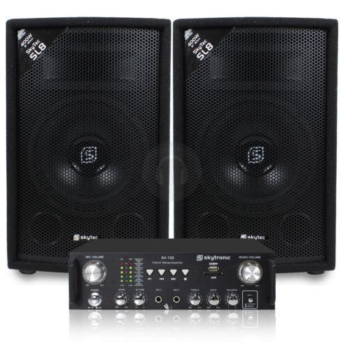 Speaker Amplifier  Sound  Vision  eBay