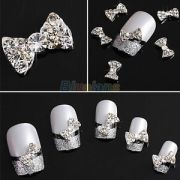 lot-10x-3d-clear-alloy-rhinestone-bow-tie-nail-art-slices