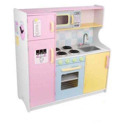 Wooden Play Kitchen Ebay