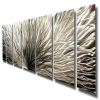 Abstract Metal Wall Art | eBay