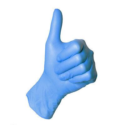 Nitril Einweghandschuhe puderfrei Größe M / XL Einmalhandschuhe Nitrilhandschuhe