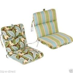 Patio Chair Pads Office Hs Code Cushions Replacement Seat Deep Ebay