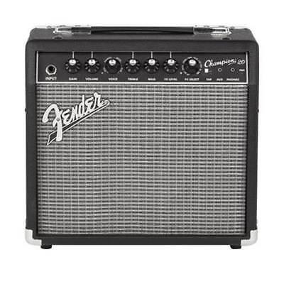 Fender Champion 20 20w 1x8 Combo Guitar Amp Part No:2330206900