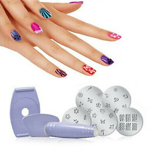 New Professional Salon Nail Art Finger Stamping Polish Diy