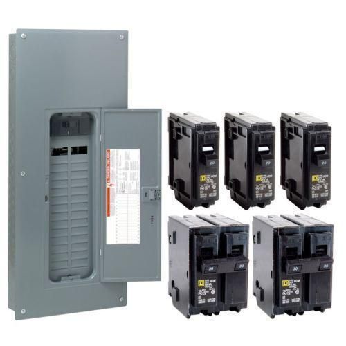 Square D 100 Main Breaker On Square D 100 Amp Load Center Wiring