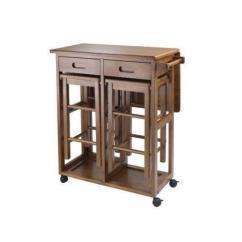 Kitchen Cart Table Unfinished Islands Island Ebay