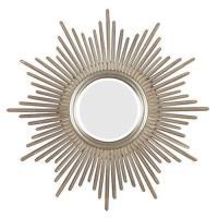 Silver Sunburst Mirror | eBay