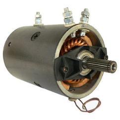 Warn M8000 Solenoid Wiring Diagram Heat Only Thermostat Diagrams 2 Wire Winch Motor   Ebay