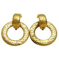 Chanel Hoop Earrings | eBay