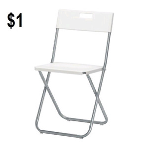 folding chair kijiji toronto dining room pad covers table chairs in gta buy sell save and on rent rental 1