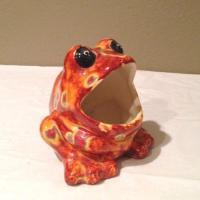 Ceramic Frog Sponge Holder | eBay
