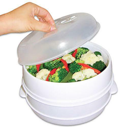 Microwave Vegetable Steamer  eBay