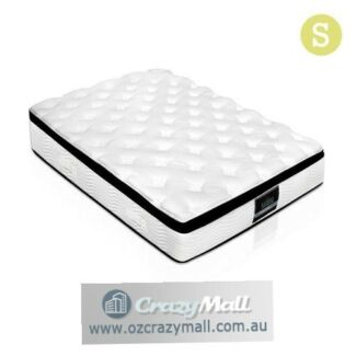 Single Latex Soft Quilting Pillow Top Pocket Spring Mattress