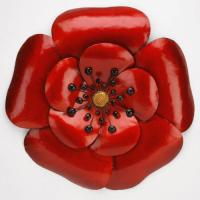 Poppy Metal Wall Art | eBay