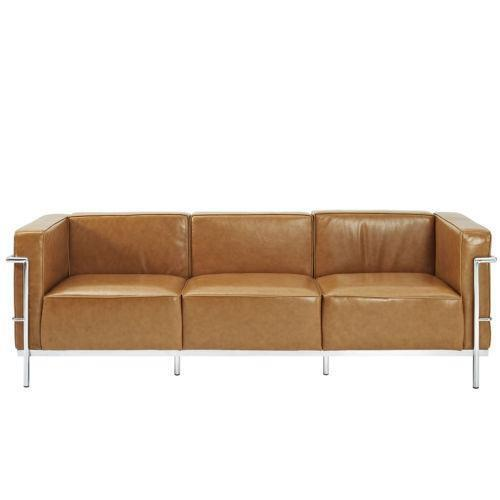 3 2 leather sofa deals cushion replacements le corbusier | ebay