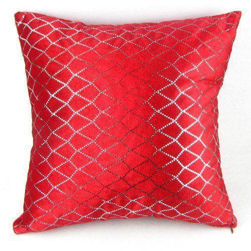 reversible sofa double recliner slipcover red sequin pillow | ebay