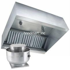 Kitchen Exhaust Brushed Nickel Faucets Restaurant Vent Hood Ebay