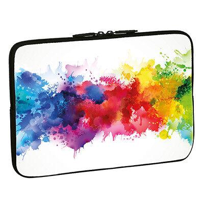 Design Notebook Schutzhülle 15,6 Zoll Laptop Hülle Tasche - Color Blob Farben