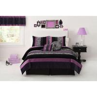 Zebra Print Bedding Set Twin