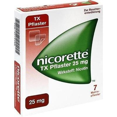 NICORETTE TX PFLASTER 25MG 7St 3273388