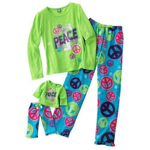 Matching Girl and Doll Pajamas eBay