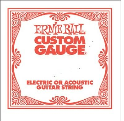 3 Ernie Ball Custom Gauge Nickel Wound .054 Strings