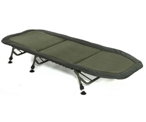 Trakker-NEW-RLX-Flat-6-Leg-Padded-Fishing-Bedchair