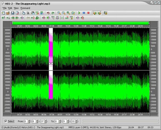 MUSIC & AUDIO RECORDING SOFTWARE FOR PC - EDITING STUDIO MP3 SOUND
