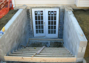 Cost of adding a walkup stairs to a basement