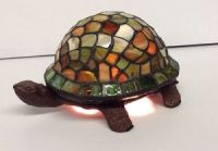 Stained Glass Turtle Lamp | eBay