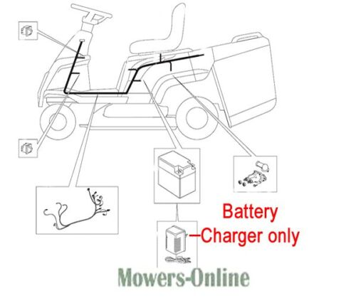 Mountfield Ride On Battery Charger CB02 182180053/0 827m