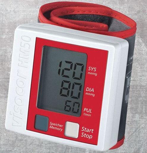 VISOCOR HM50 vollautomat Handgelenk Blutdruckmessgerät PZN 09081744 NEU OVP