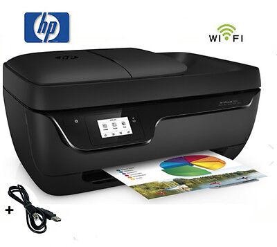 HP OFFICEJET 3833 MULTIFUNKTIONS WIFI DRUCKER SCANNER KOPIERER FAX * NEU
