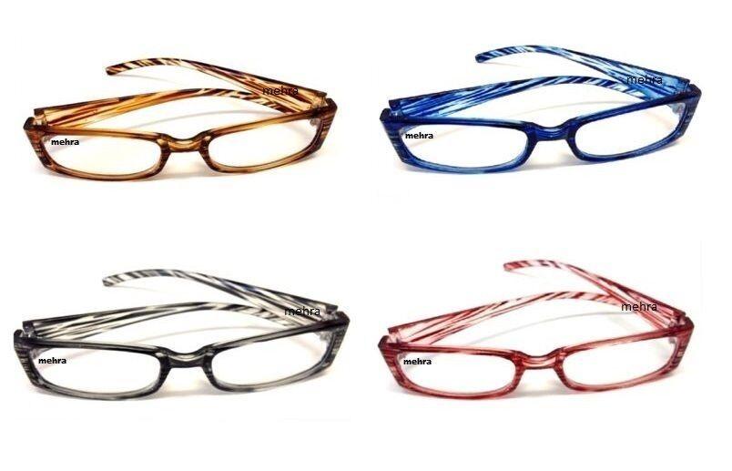 4x Lesebrillen Lesehilfe Augenoptik Lesebrille Sehstärke Brillen Sehhilfe**