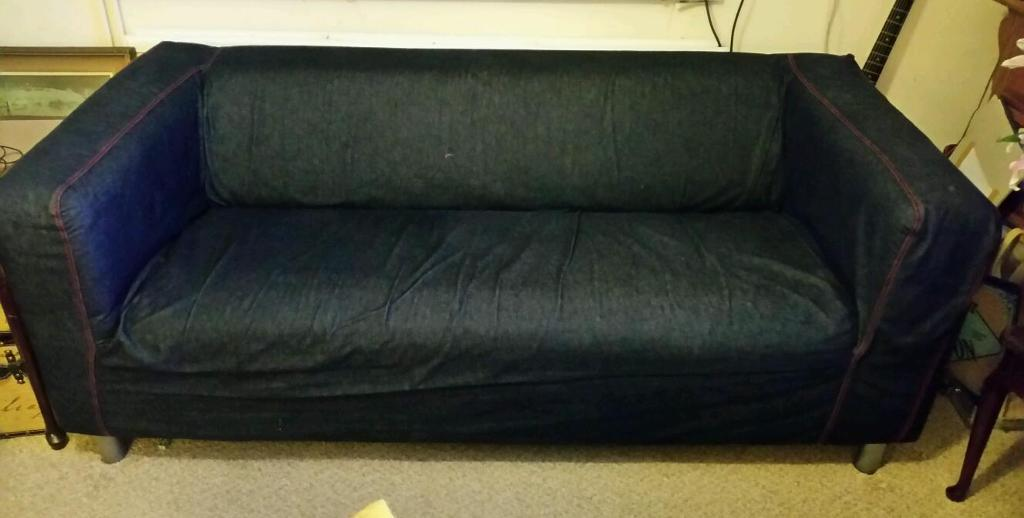 ikea rp 3 seater sofa covers sleeper for camping denim 2 bed bürostuhl - thesofa