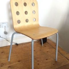 Ikea Jules Chair Old Fashioned Lawn Chairs Beech Plywood Visitor Office Adult Size Discontinued
