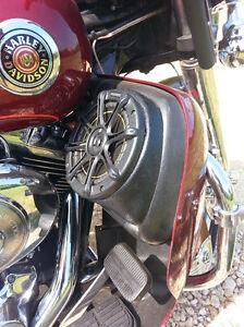 2014 Street Glide Wiring Diagram Harley Davidson Vented Lower Fairing Speaker Pods Street