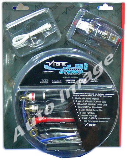 Vibe Slick 8 Gauge 1500w Amplifier Wiring Kit Car Audio Direct