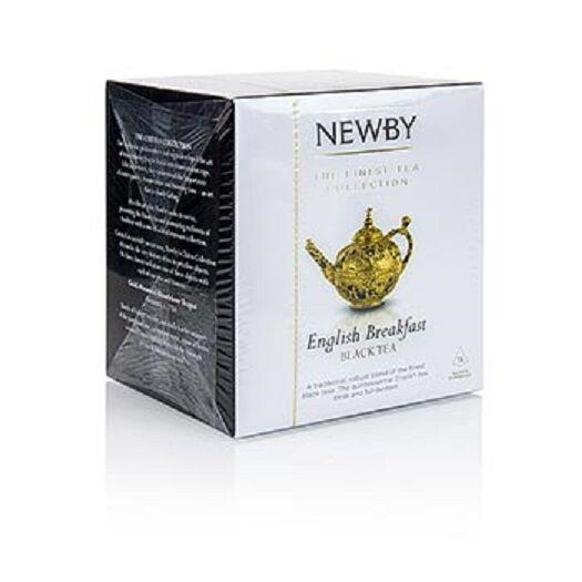 Newby Tea English Breakfast, schwarzer Tee, 37,5g, 15 St
