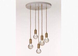 Lee Broom Crystal Bulb Chandelier 1800