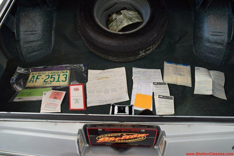 1976 Miles 790 Monte Chevrolet 11 Carlo Ebay Landau