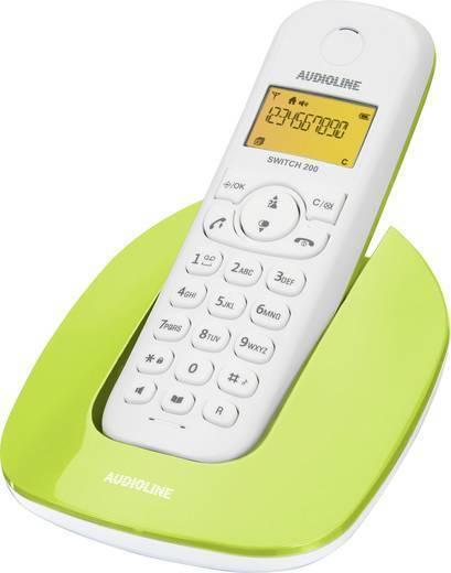 Audioline Switch 200 schnurloses DECT Telefon grün