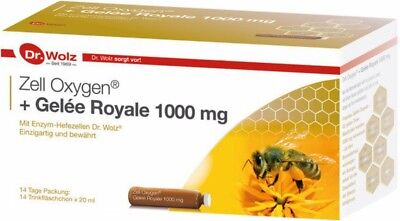 Dr.Wolz Zell Oxygen+Gelee Royale 1000mg, 14 Ampullen x 20ml5